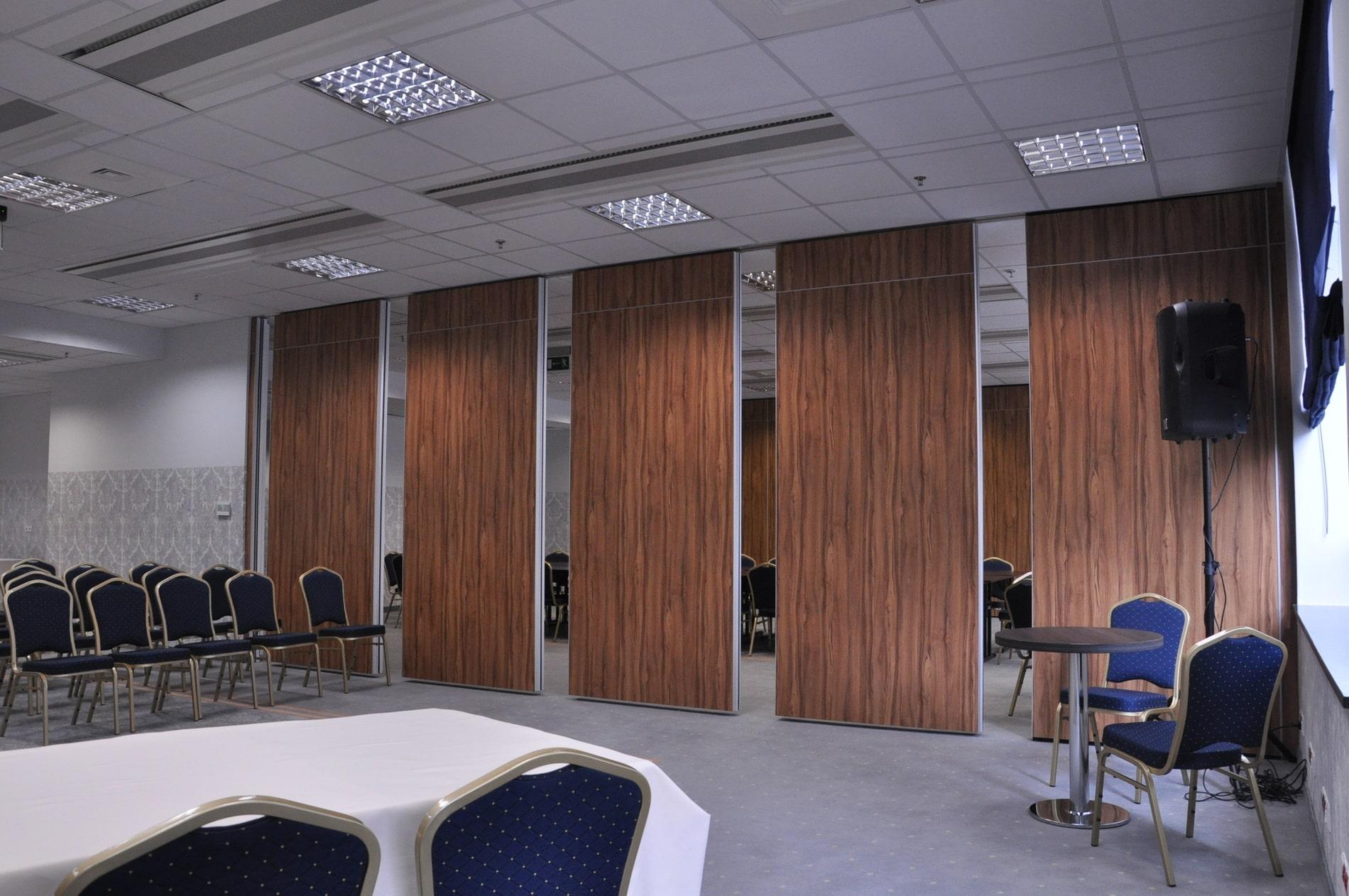 Ściany mobilne - Ściany przesuwne, składane